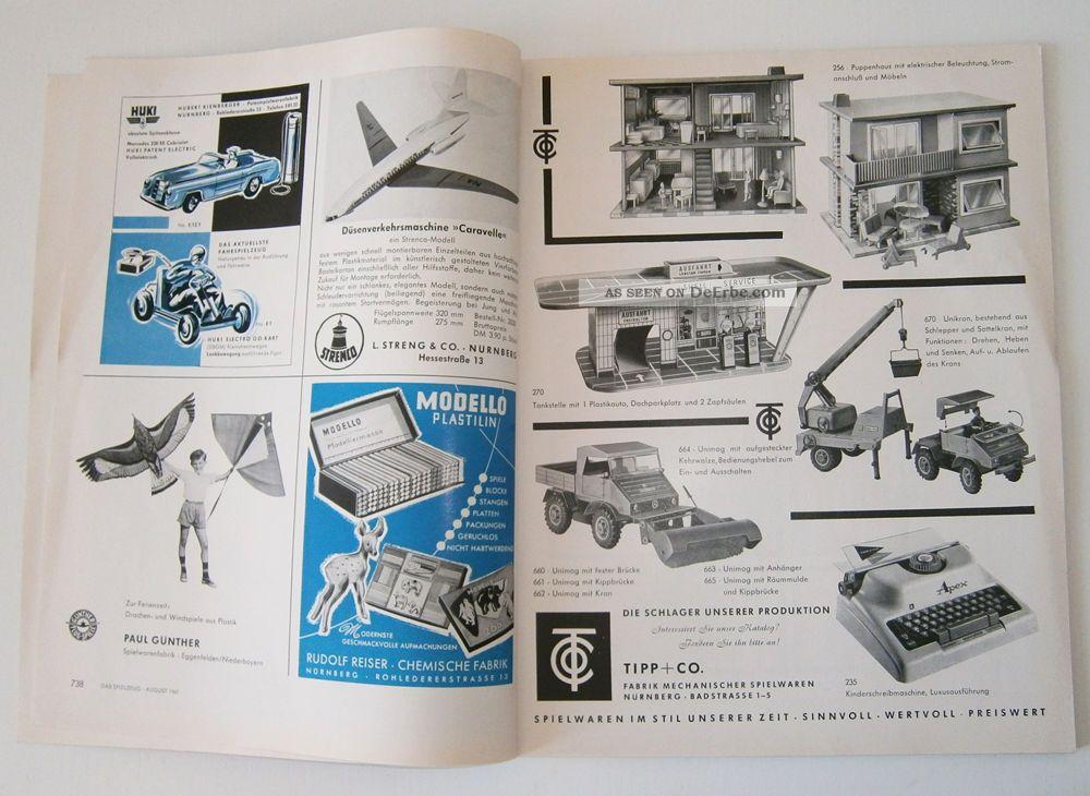 das spielzeug von 1961 viel zeitgen ssische werbung ab 1. Black Bedroom Furniture Sets. Home Design Ideas