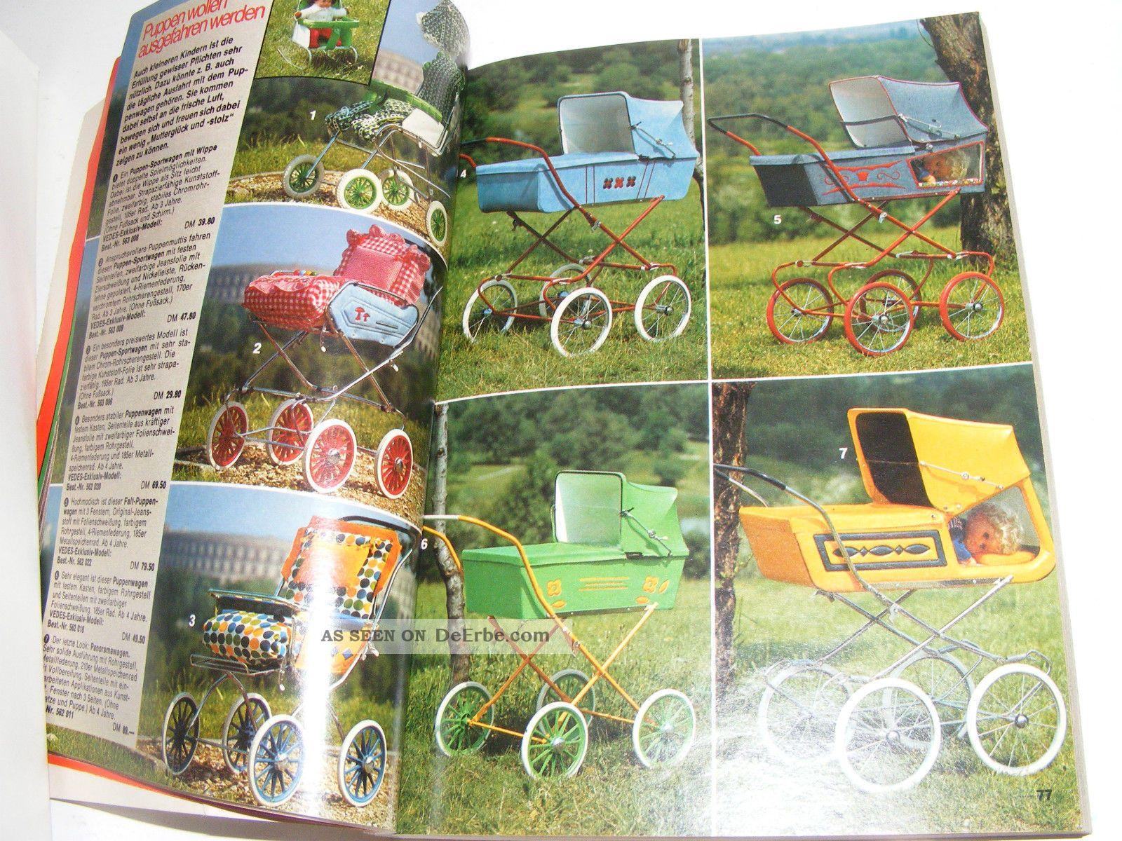 alter vedes spielzeug katalog 1974 carrera bigjim lego barbie m rklin 256 seiten. Black Bedroom Furniture Sets. Home Design Ideas