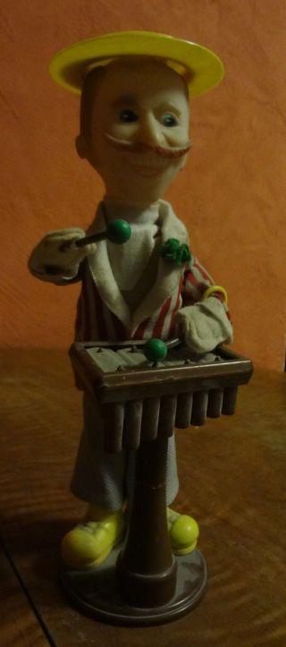 Puppe Mechanisch Die Xylophon Spielt Bild