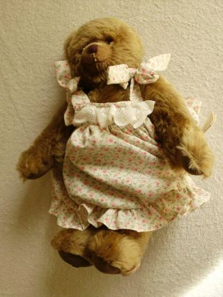 Sigikid Teddy Bär Sammlerstück Liebhaber Rarität Bild