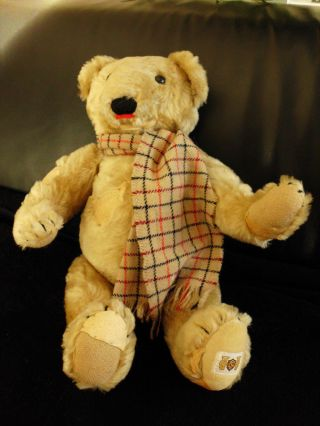 Cnc Teddy Bär England Sammlerstück Liebhaber Rarität Bild