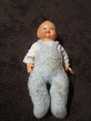 Alte Puppe Püppchen Minerva Minervapuppe Babypuppe Bild