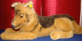 765 Steiff 4048/50 Junger SchÄferhund Welpe Um 1980 Unbespielt Bild