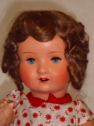 Puppe 20er - 30er Jahre - Pappmasche - Pappmaschee - Antike Masse - Um 1920 Bild