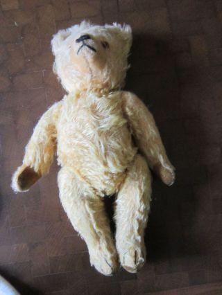 Sehr Alter Teddy Teddybär ?original Gefertigt Vor 1970 Bild