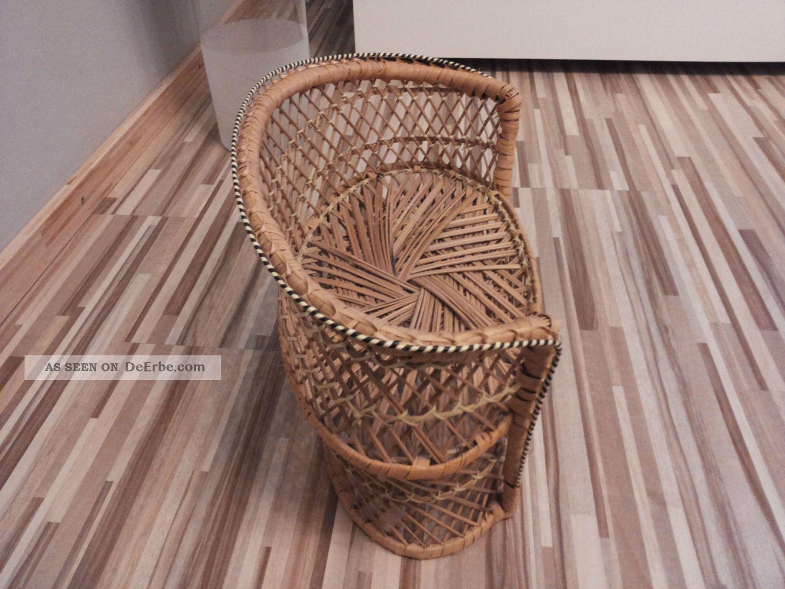 puppen bank korbsessel rattan. Black Bedroom Furniture Sets. Home Design Ideas