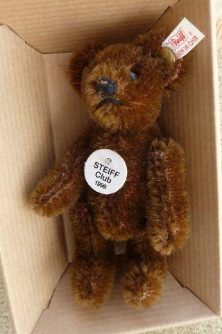 Steiff Club - Teddybär - Dunkelbraun - 7cm - 1999/2000 Bild