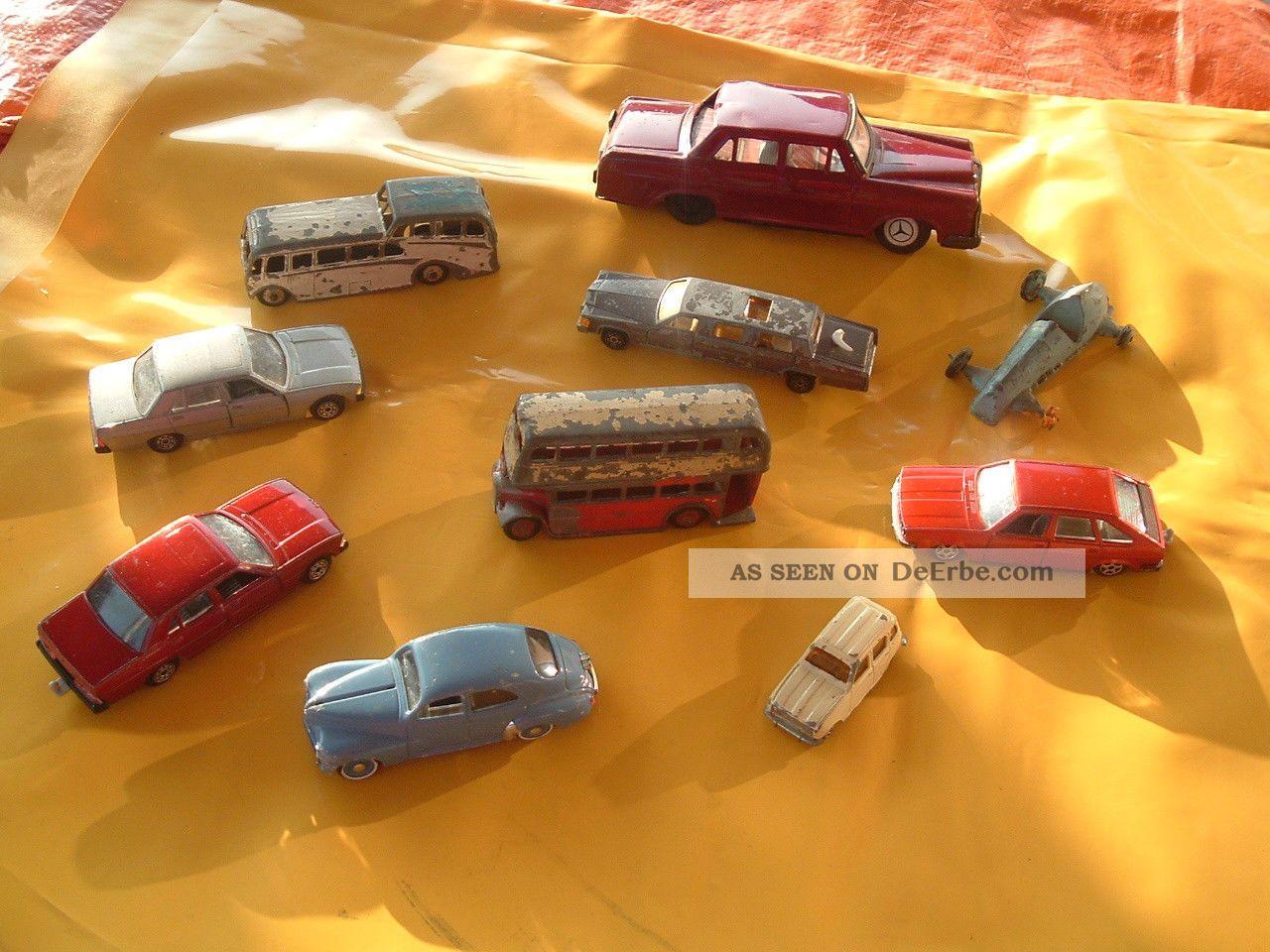 Alte spielzeug autos er jahre und älter konvolut