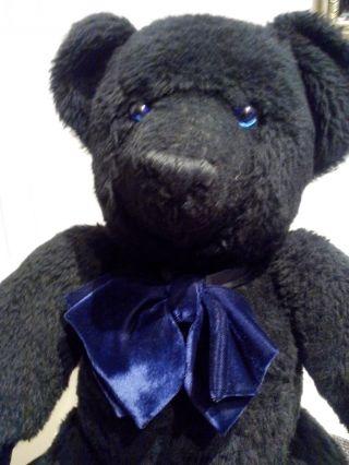 Grosser SchwarzbÄr Teddy Ca.  55 Cm Top Bild