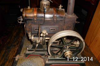 Dampfmaschine Mg Würtenberg Bild
