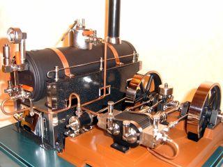 MÄrklin Zweizylinder Dampfmaschine Mit Ovp Bild