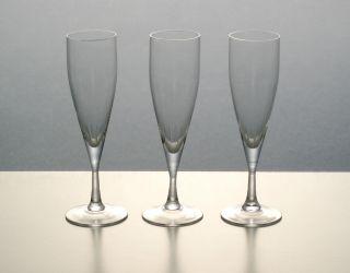 Wilhelm Braun - Feldweg 3x Wmf Trinkglas Elvira Kristall Sekt Sektflöte 50er Jahre Bild