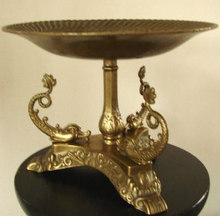 Very Rare Old Antique Antik Bronze Empire - Stil Obstschale Fruit Bowl Frutero Bild