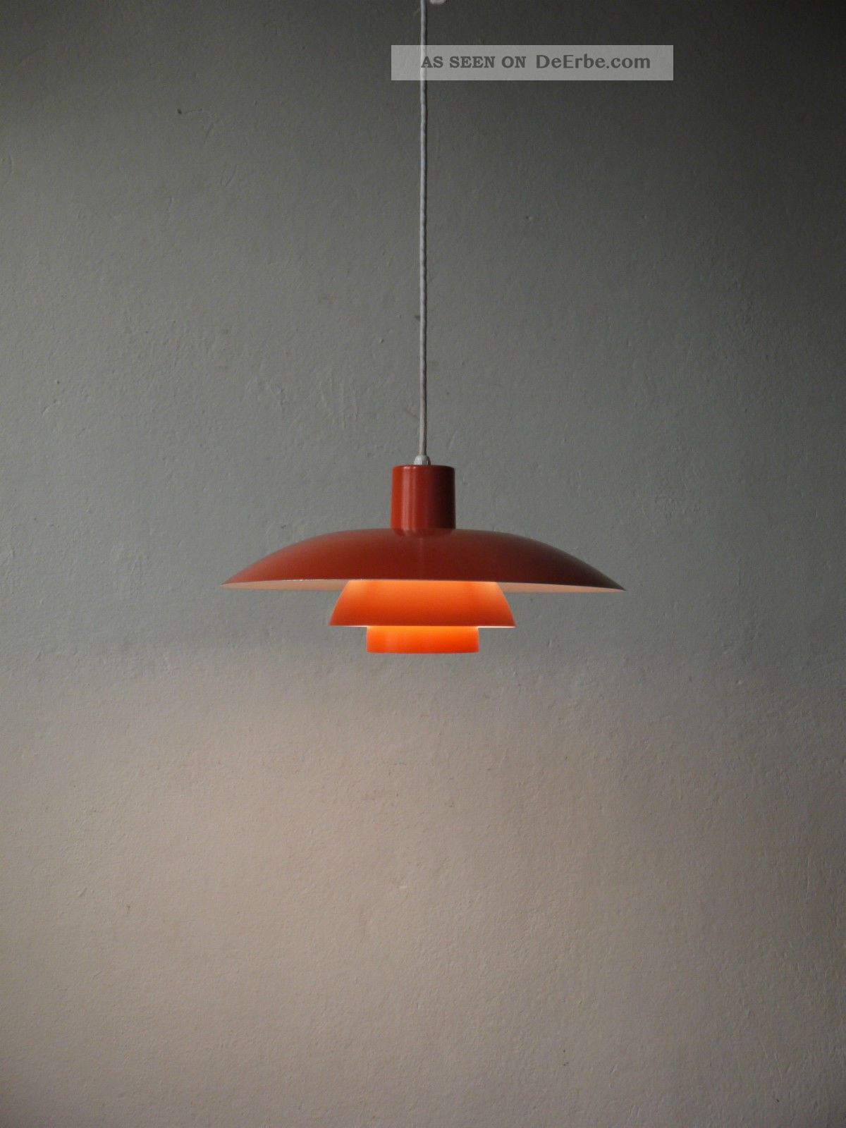 Louis Poulsen Ph 4/3 Danish Modern Design Lamp DÄnemark 70er Eames Jacobsen Era 1960-1969 Bild