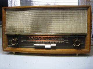 Grundig Radio,  Röhrenradio Musikgerät 98k Von 1964 Bild