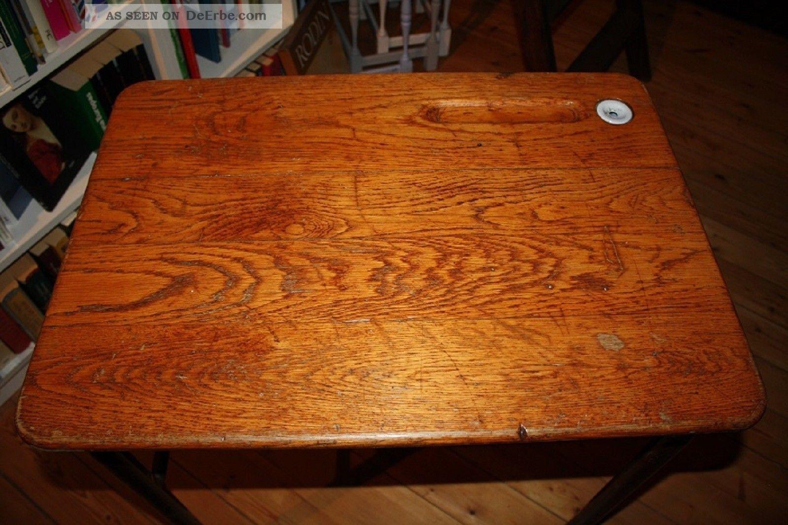 Schultisch antik  Schulpult, Schultisch, Frankreich, Antik, Vintage