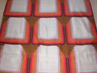 2 Stück Orig.  70er Vorhänge Curtains Diolen Kultig Panton Ära Space Ace Bild