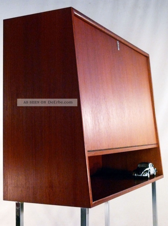 60er sekret r teak orig wk m bel schreibtisch sideboard danish design 70er knoll. Black Bedroom Furniture Sets. Home Design Ideas