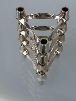 4 Nagel Quist Bmf Kerzenständer Steckmodul Kerzenhalter 70er Jahre Bild