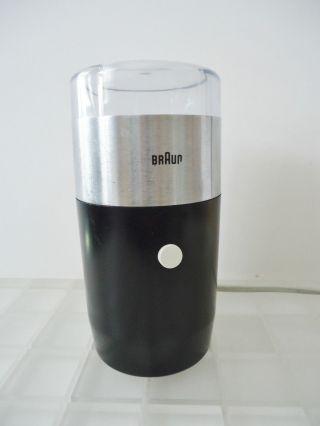 Braun Kaffeemühle Aromatic Ksm 11 Typ 4026 R.  Weiss 1967 Designklassiker Bild