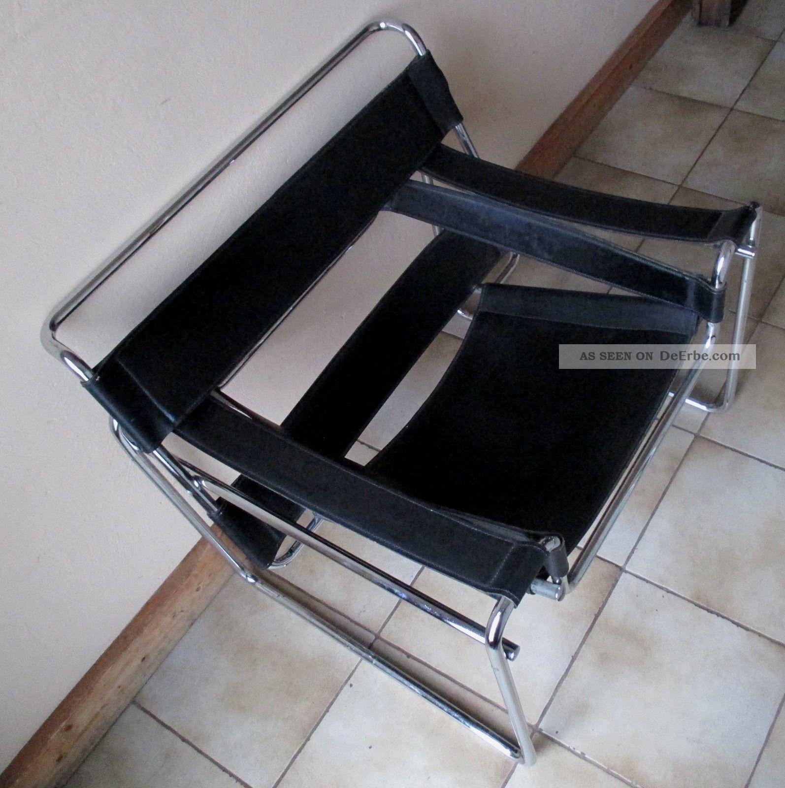 2 X Wassily Chair Marcel Breuer Sessel Aus Nachlass