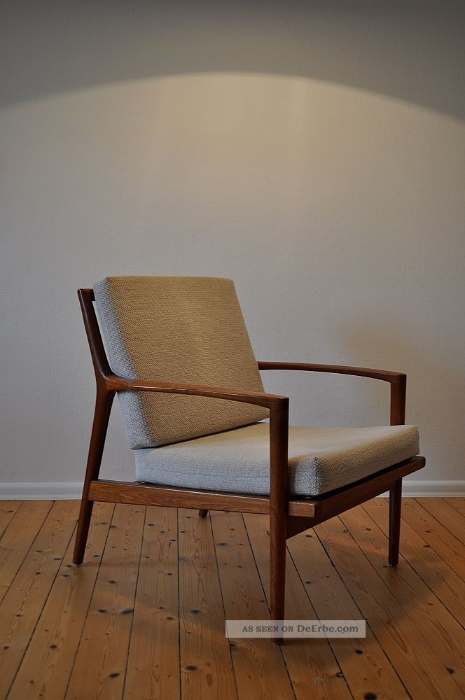 60er 60s Teak Easy Chair Sessel Danish Design Mid Century Modern