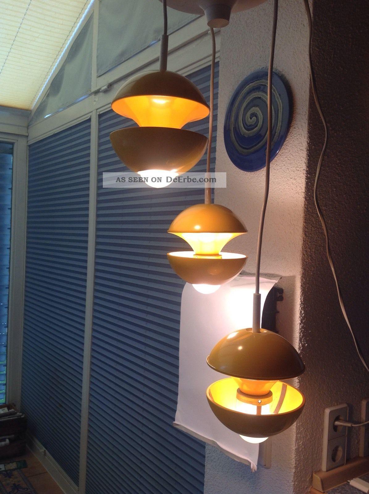 kaiser lampe h ngeleuchte 70er jahre. Black Bedroom Furniture Sets. Home Design Ideas