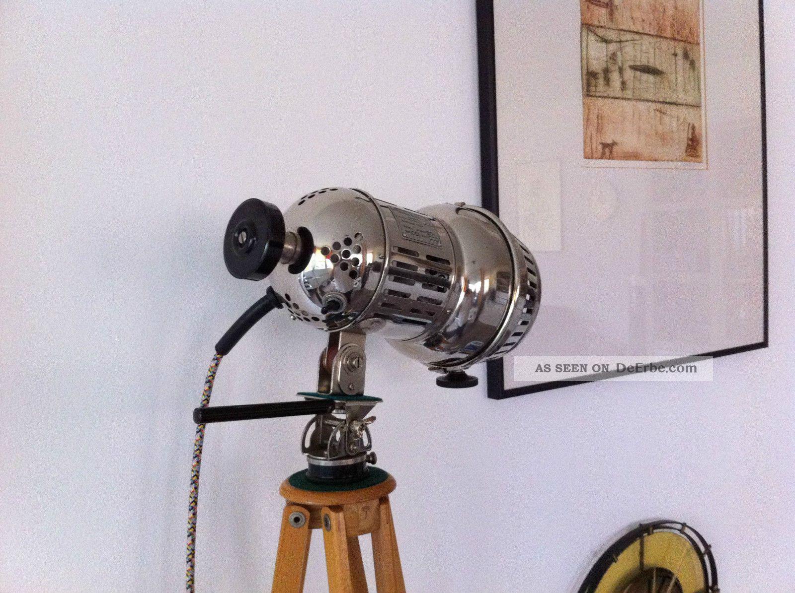 tripod lampe art deco holz stativ bauhaus loft vintage floor lamp stehlampe. Black Bedroom Furniture Sets. Home Design Ideas