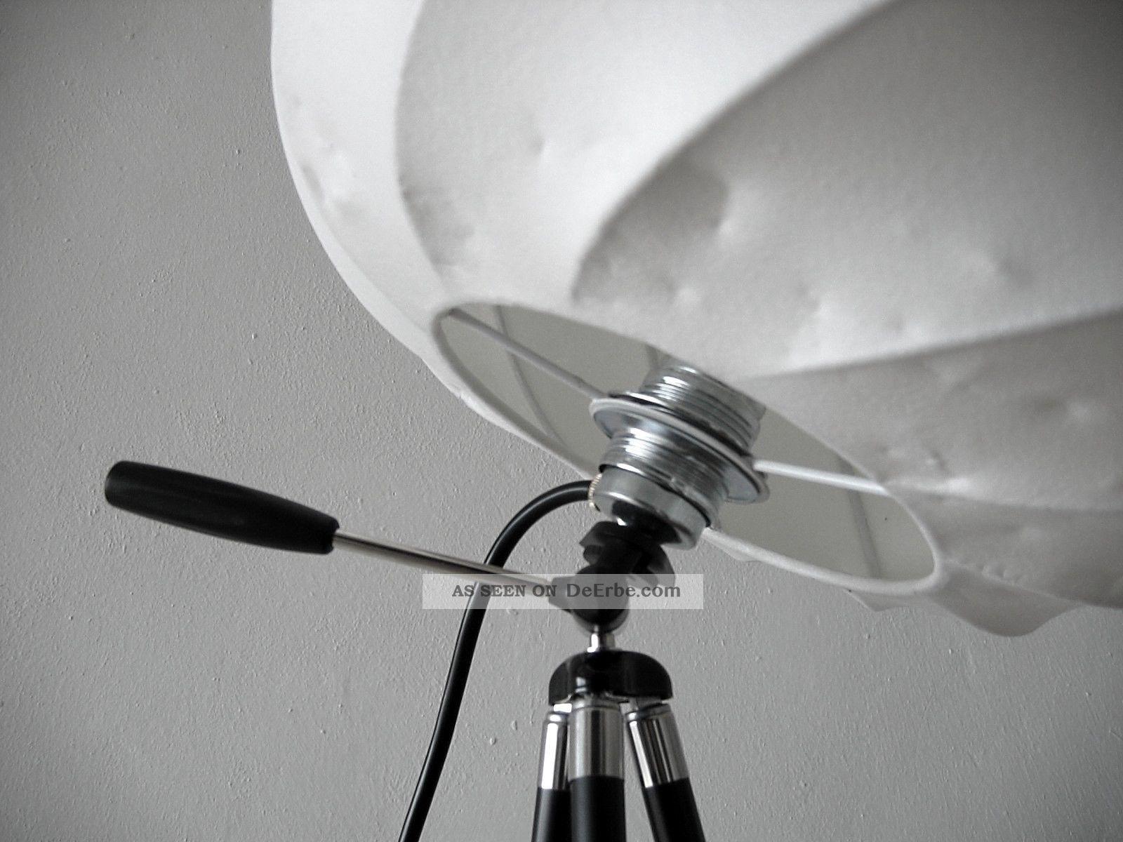 tripod cocoon stativ leuchte stehlampe castiglioni colani panton flos art. Black Bedroom Furniture Sets. Home Design Ideas