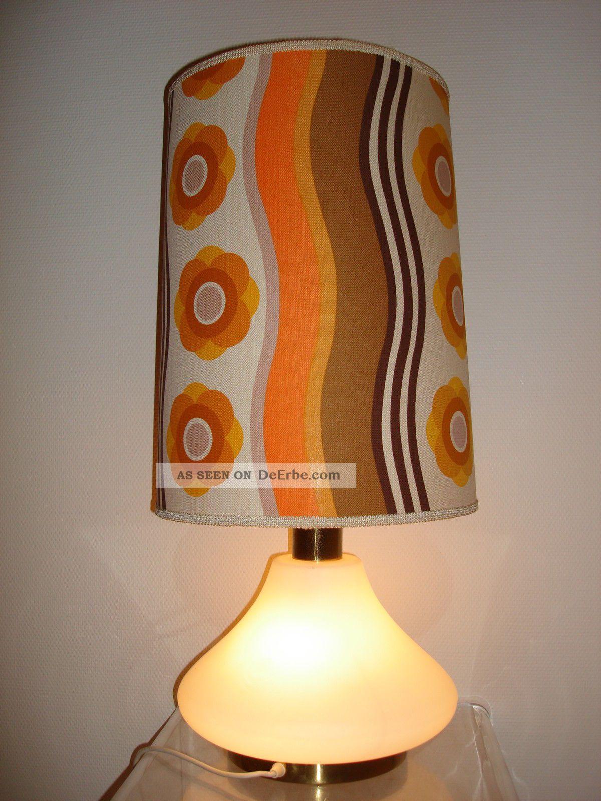alte exklusive stehlampe bodenlampe tischlampe 60er 70er jahre mit glasfu. Black Bedroom Furniture Sets. Home Design Ideas