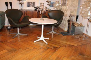 Herman Miller Eames George Nelson Pedestal Coffee Table Tisch Couchtisch Panton Bild