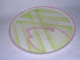 1930 Max Roesler Spritzdekor Tortenplatte 6707/7 Bild