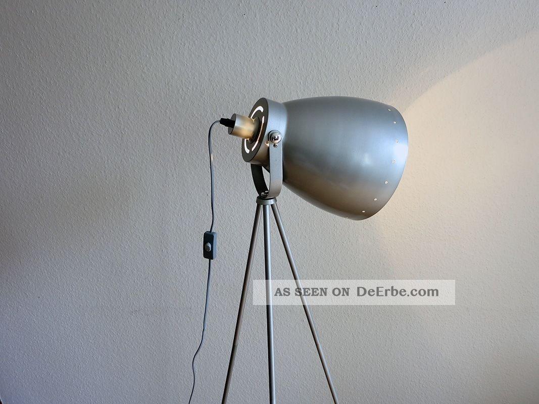 tripod bauhaus chromleuchte spot foto studio tripodlamp stehlampe stativ. Black Bedroom Furniture Sets. Home Design Ideas