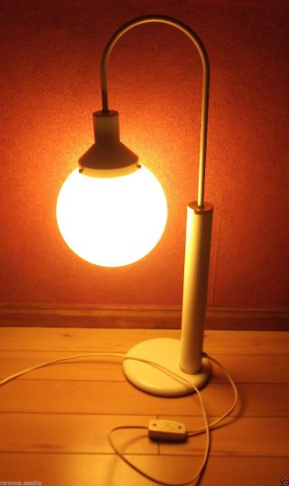 Kugellampe 60er 70er Jahre / Tischleuchte / Nierentisch - Ära / Tischlampe Bild
