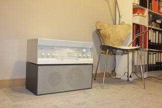 Braun L40 Lautsprecher In Grau Von Dieter Rams Bild