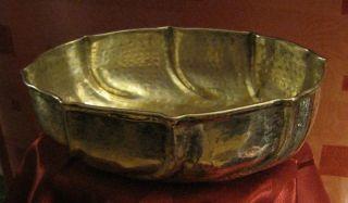 Früchtenschale Hammer Deckor Massiv 456,  20g.  800 Silber Art Deco Um 1926 Rrr Bild