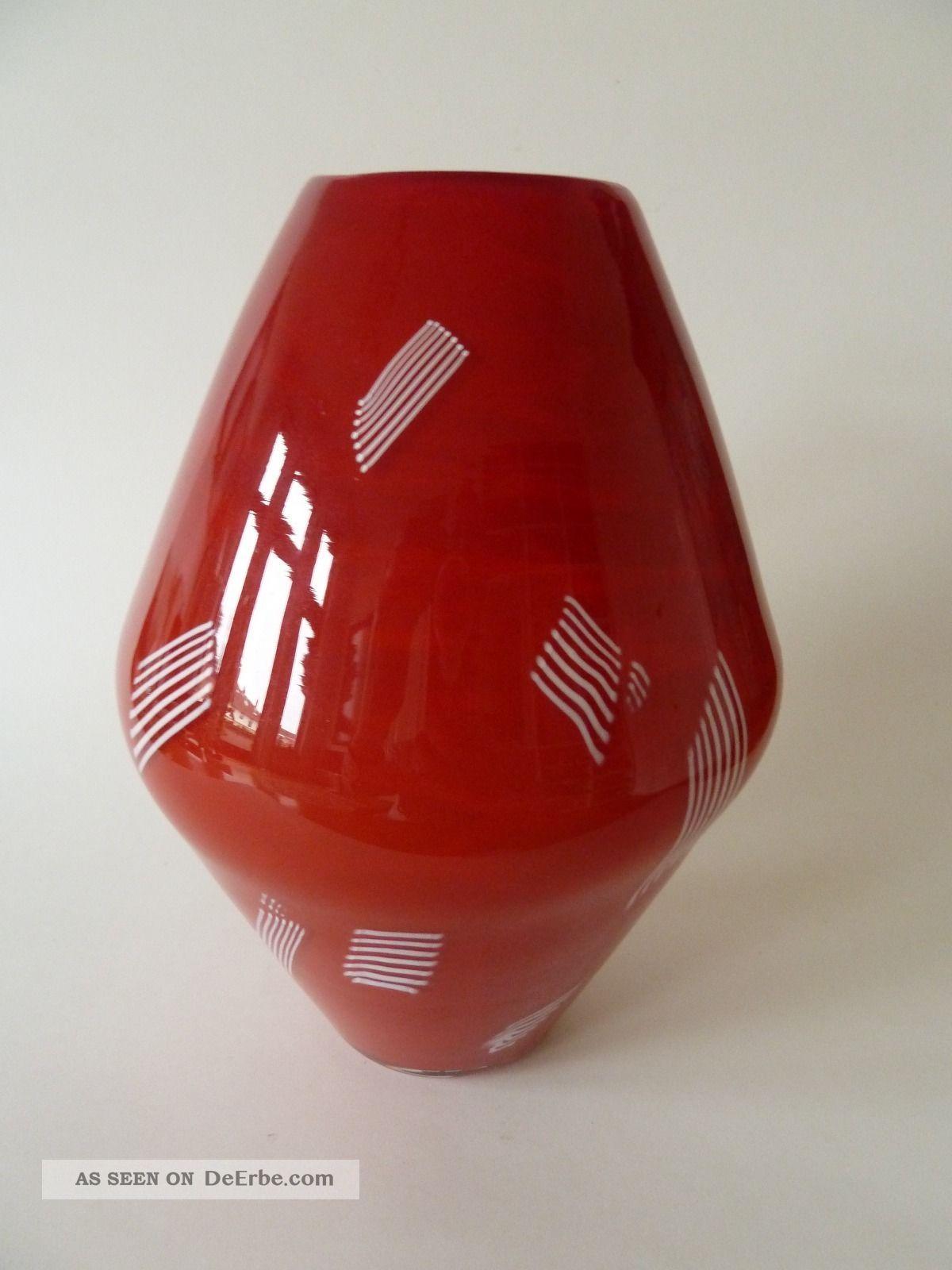 Murano - Vase Von Seguso Peter Kuchinke Glas & Kristall Bild