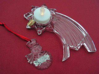 Nachtmann Bleikristall Weihnachtsstern Und Baumanhänger Schneemann Bild