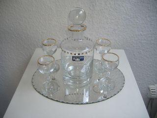 Leonardo Whisky Karaffe Mit Spiegel Und 4 Gläschen Bild