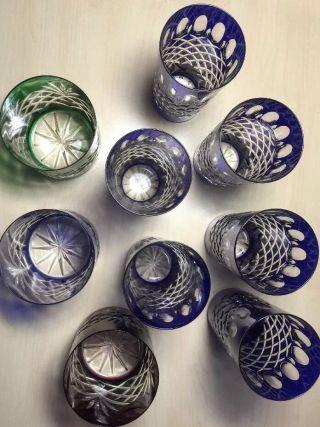 Blei Kristallgläser,  6 Longdrink,  2 Whiskytumbler,  Teuer,  Edel,  Top Bild
