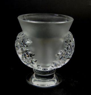 Lalique Satinierte Vase