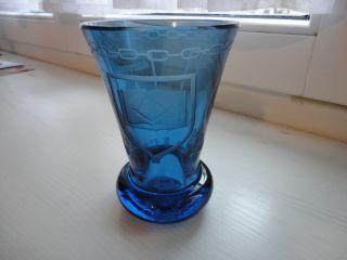Schweres Andenkenglas,  Zunftglas? Studentika? Beschriftet: Concordia Bild