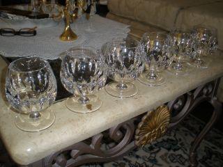 6 Nachtmann Cognacgläser Echt Bleikristall Gläser Kristallgläser Ätzgravur N Bild