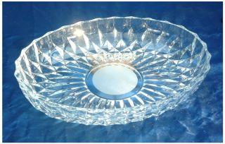 Kristall - Schale Oval WunderschÖn 28 X 21 X 4,  5 Cm Bild
