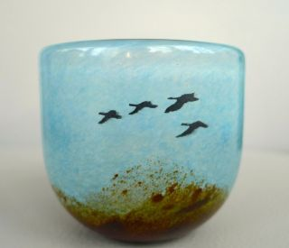 Kosta Boda Schweden Glas Vase