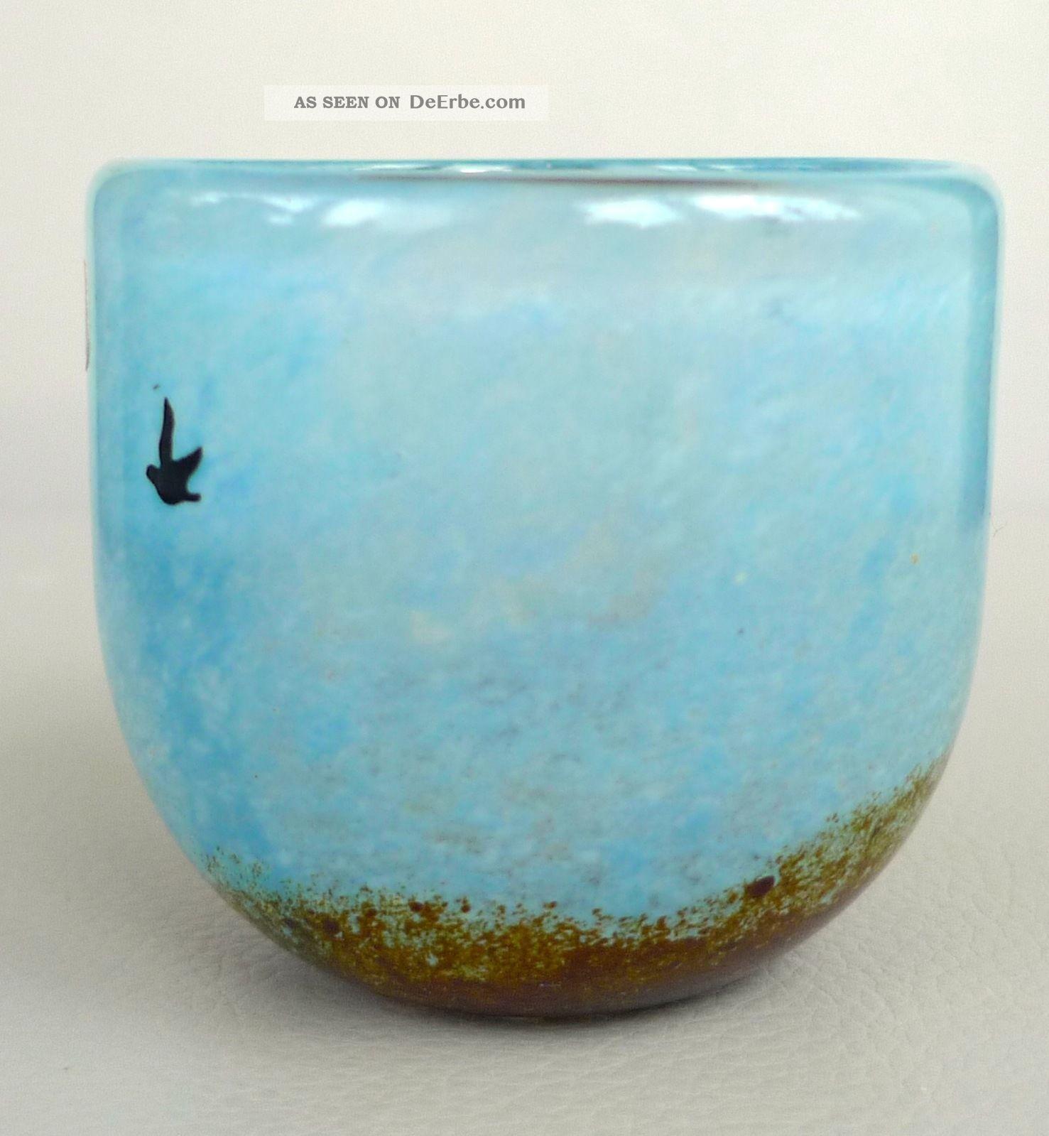 kosta boda schweden glas vase november design kjell engman atelierglas 1982. Black Bedroom Furniture Sets. Home Design Ideas