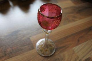 Kelch Aus Glas Alt Glaskelch Bild