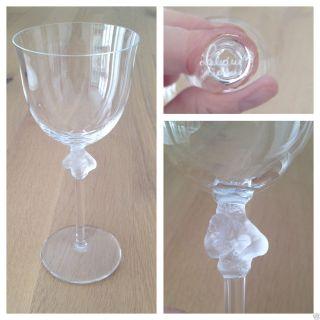 Traumhaftes Lalique France Weinglas Roxane Geschliffenes Kristall Glas Bild