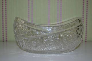 Bleikristall Glas Schale Bild