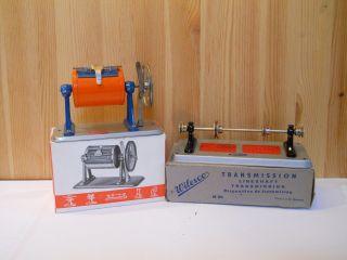 (26) Wilesco 2 Teile Antriebsmodelle Für Dampfmaschine In Originalverpackung Bild
